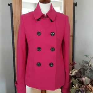 JC Penney Pink Pea Coat